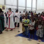 Einzug zum Gottesdienst